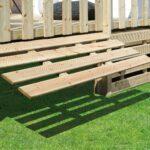 17 - Kit soubassement standard ht 50 cm relevable pour terrasse